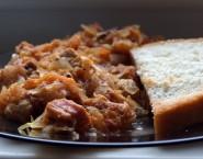 Sauerkraut stew