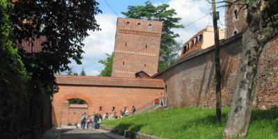 Medieval walls in Torun