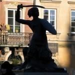 Warsaw Mermaid in Poland by Leszek Kozlowski
