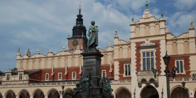 Mickiewicz Monument in Krakow