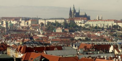 View of Prague in Czech Republic
