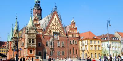 Town Hall in Wroclaw Old Town