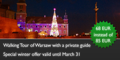 Walks of Warsaw - promotion