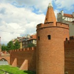 Barbican in Warsaw