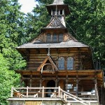 Jaszczurowka Church in Zakopane