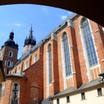 St.Mary's Church in Krakow by Anna Ostrowska