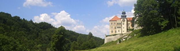 Renaissance Palace in Pieskowa Skala