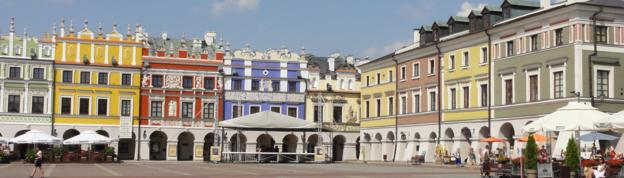 Market Square in Zamosc