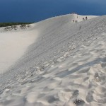 Sand dunes Baltic Sea