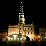 Zamosc by night