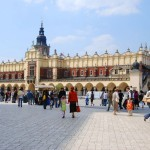 Cloth Hall in Krakow, Poland