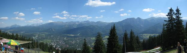 View on Tatra Mountains
