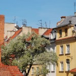 Tenement houses in Warsaw