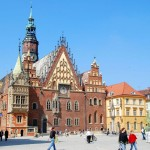 Town Hall in Wroclaw by Anna Ostrowska
