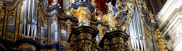The organs in Swieta Lipka church