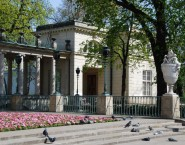 Palalce on the Island Warsaw