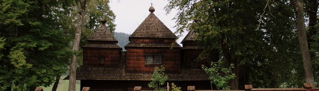 Smolnik wooden orthodox church